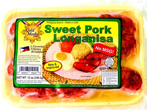 Sweet Pork Longanisa BULK ITEM ID: 3105