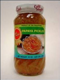 Papaya Pickles (Atsara) ITEM ID: 1108