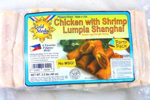 CHICKEN with SHRIMP Lumpia Shanghai ITEM ID: 3364