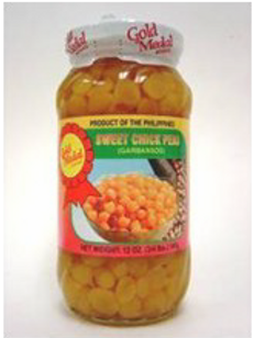 Sweet Chickpeas (Garbanzos) ITEM ID: 1363