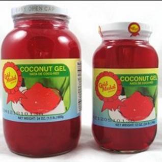 Nata De Coco Red (Coconut Gel) ITEM ID: 1315-A
