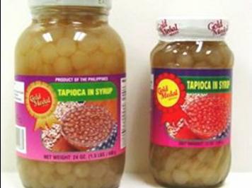 Tapioca in Syrup Plain ITEM ID: 1122
