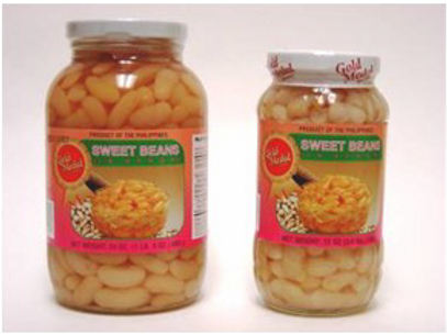 Sweet Beans in Syrup ITEM ID: 1116