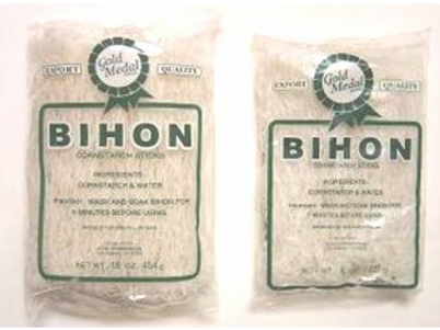 Pancit Bihon (Cornstarch Sticks) ITEM ID: 1410
