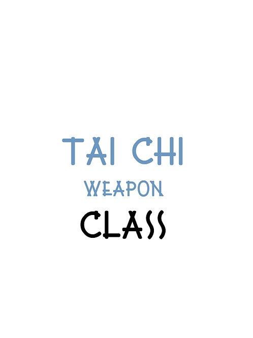 Tai Chi Weapon