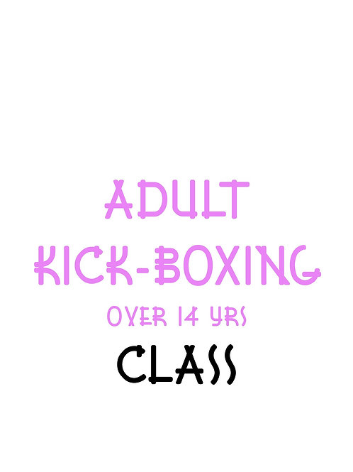 Adult Kick-Boxing