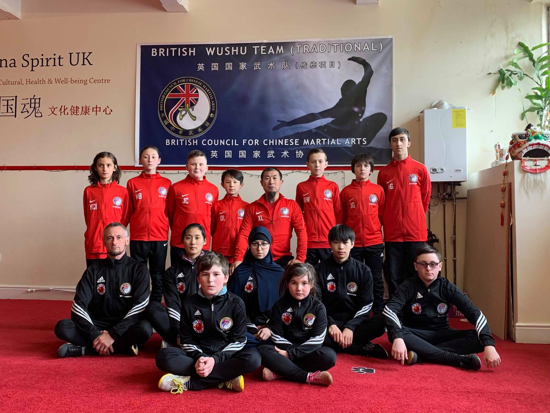 British Traditional Taolu Squad