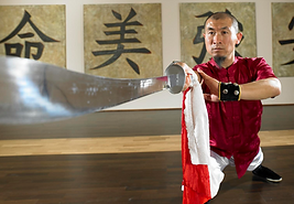 Master Xingbo Liu, 6th Duan Shaolin Temple trained