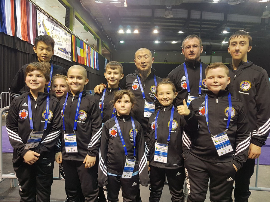 Great Britain Traditional Wushu Team 2018