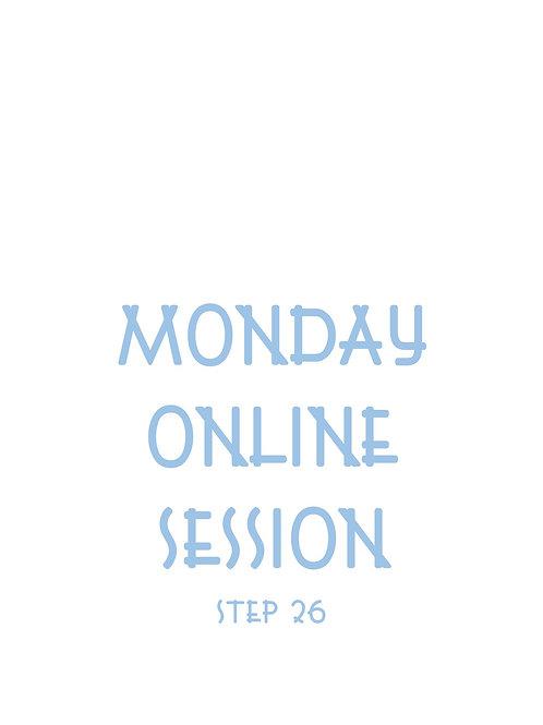 Monday 12pm Tai Chi Class Online