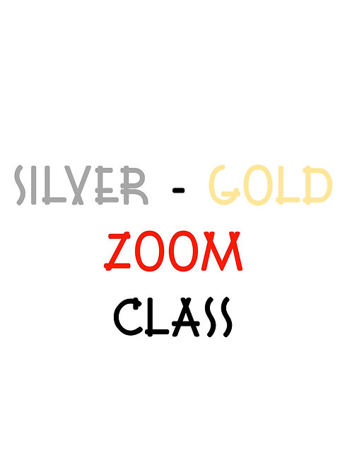 Silver/Gold Zoom Session