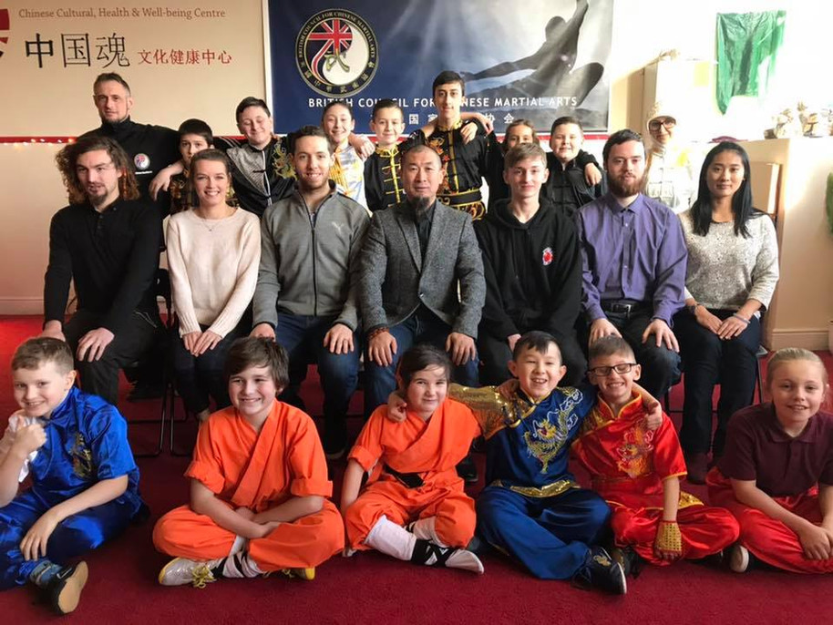 Great Britain Traditional Wushu Squad 2019