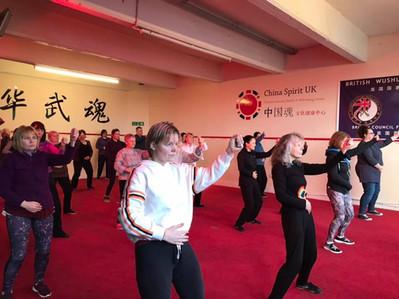 Gold Power Qi Gong Workshop at China Spirit UK