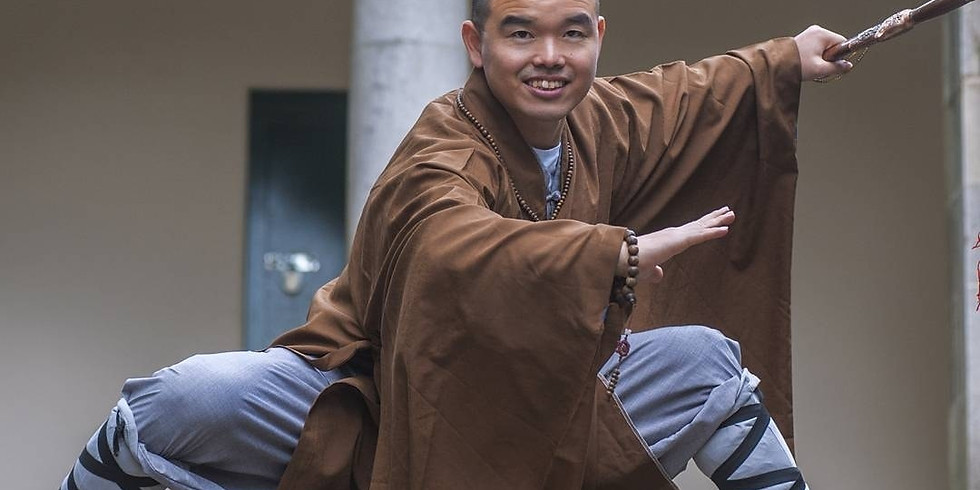 Shaolin Competition Form Workshop with Master Heng Wei