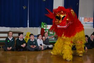 Lion Dance Workshop