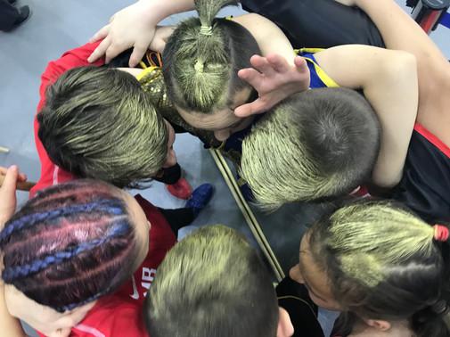 Golden heads - British Team Spirit