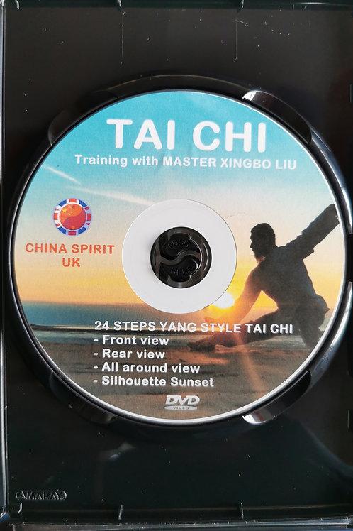 Yang Style 24 steps Tai Chi - DVD