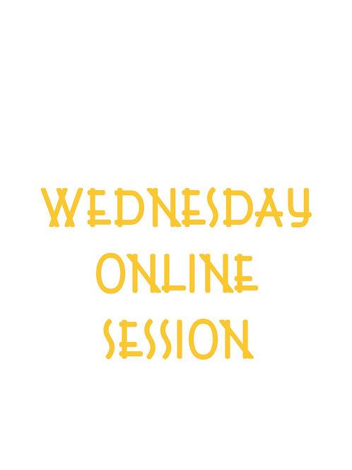 Beginner's Tai Chi Class Online / Wednesday