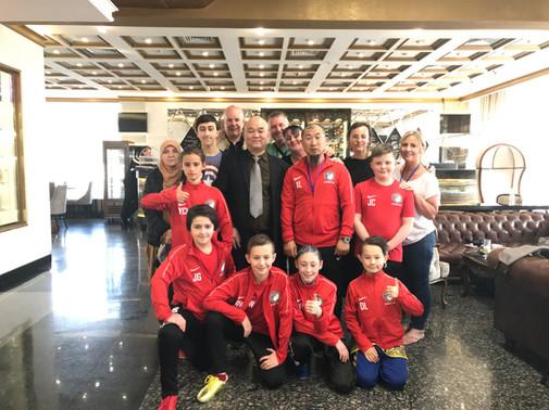 Master Wu, Wing Chun Master and the British Team