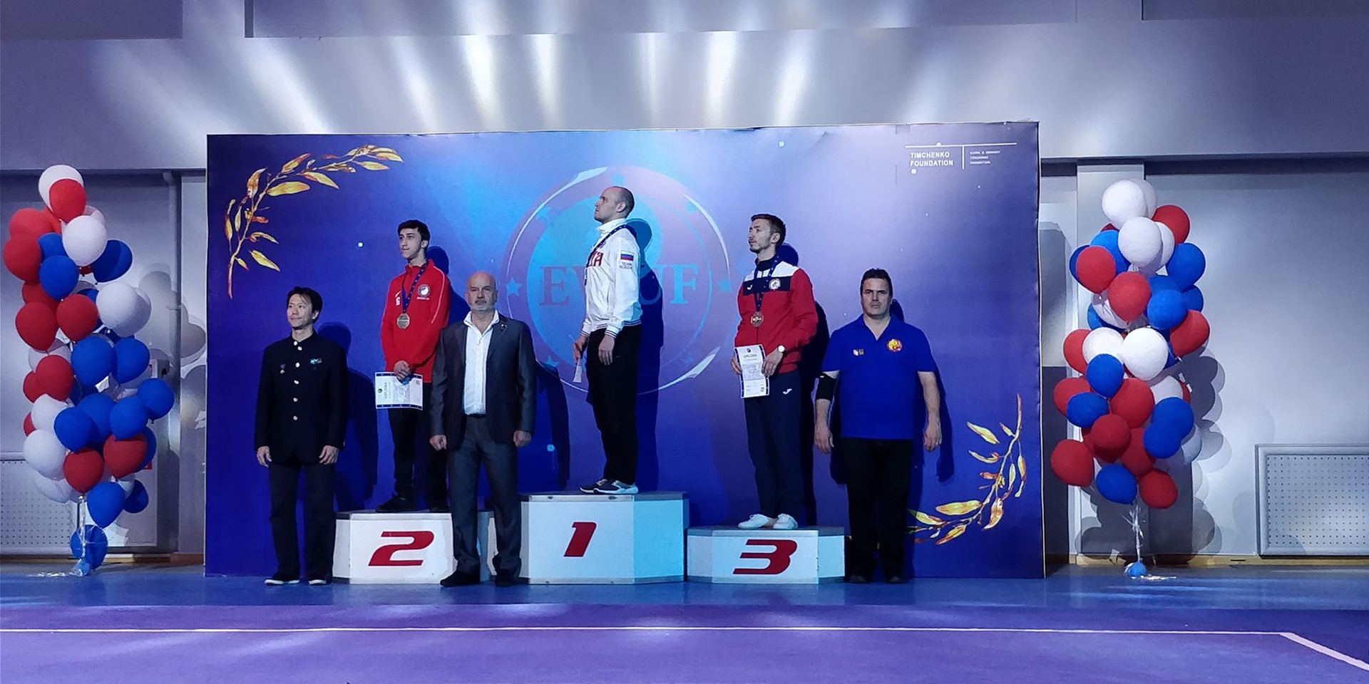 Silver medalist, Mujahid Guven
