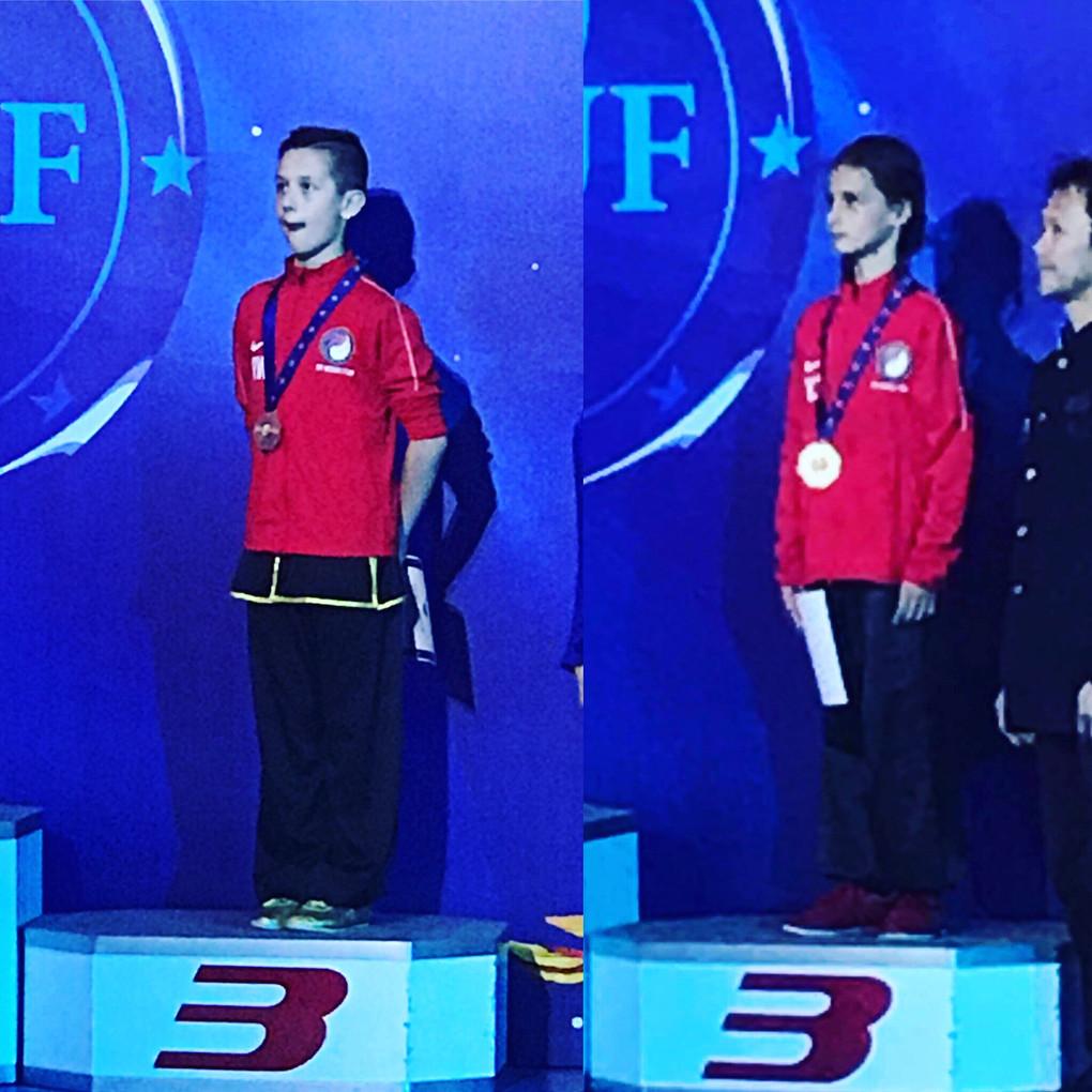 Ryan and Yavor: Bronze Medalists