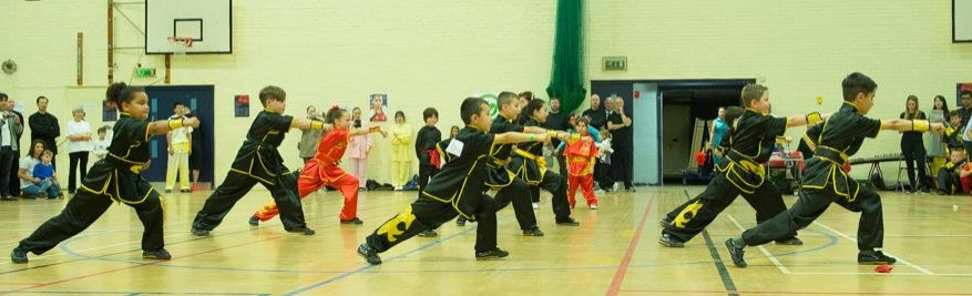 Wushu Display