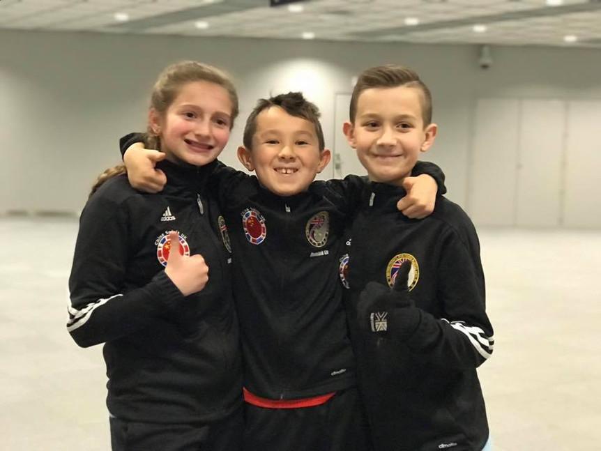 Ruby, Dominik, Ryan