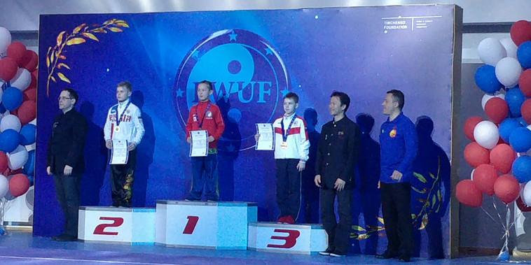 Double Gold Medalist, Dominik Liu