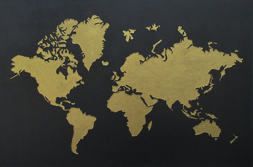 World map art is affordable acrylic on canvas reference number ab016 this is a handmade item with acrylic on canvas ship to singapore and australia from kuala lumpur malaysia gumiabroncs Images
