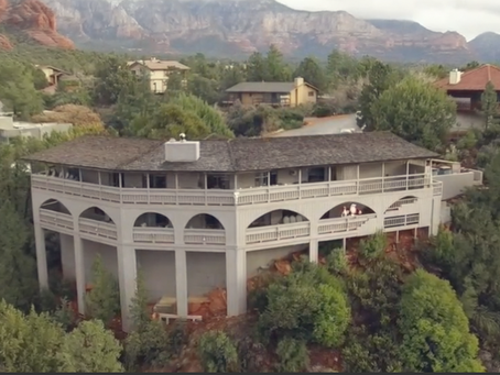 Terrie Frankel Promotes Sedona House of Seven Arches Earth Cam