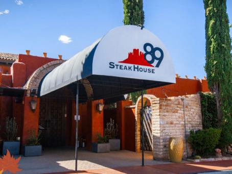 Steakhouse89 Thanksgiving In Sedona!