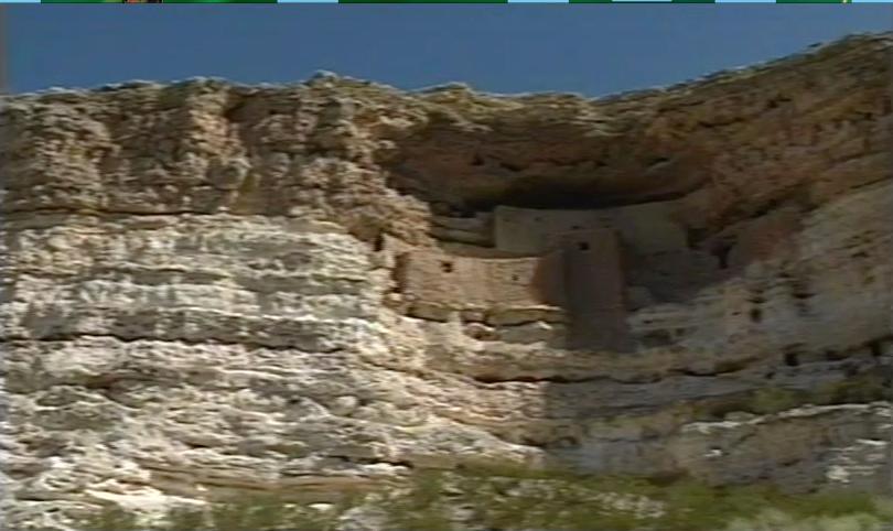 Sedona ancient cliff dwellings