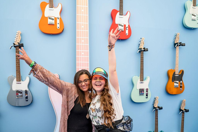 Guitar Photo-Op Wall