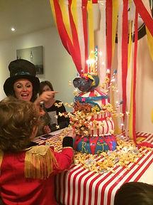 Circus Birhday Cake Aaron Coulson ACEntertainment