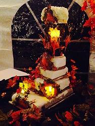 Fall Wedding Cake Aaron Coulson ACEntertainment