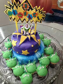 Buzz Lightyear BirthdayCake Aaron Coulson ACEntertainmen