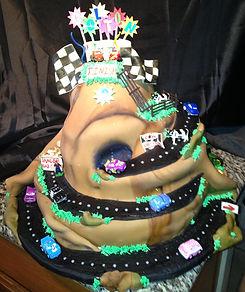 Cars Birthday Cake Aaron Coulson ACEntertainmet