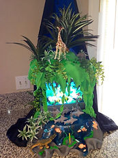 Land and Sea Bithday Cake Aaron Coulson ACEntertainment
