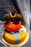 Male body builder weight lifter Cake Aaron Coulson ACEntertainment