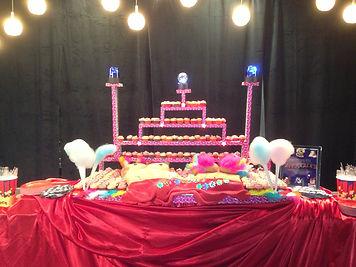 Broadway Bares SHowboy Showgirl Cake Cupcakes Aaron Coulson ACEntertainment