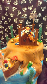 Pirate Ship Dreams Cake Aaron Coulson ACEntertainment