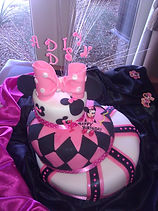 Mini Mouse Birthday Cake Aaron Coulson ACEntertainment