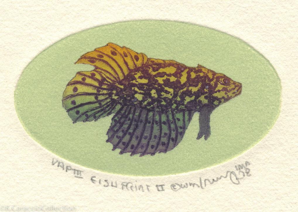 Fish Print II, 1978