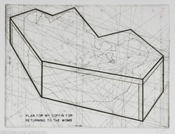 Plan For My Coffin For Returning to the Womb, 2010