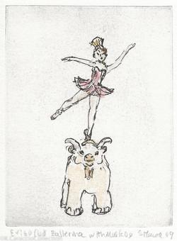 Ballerina with Muskox, 2009