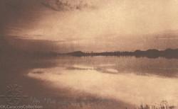 Pitt Lake Sunset, 1996