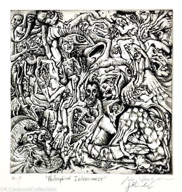 """Philosophical Intercourse"", 2007"