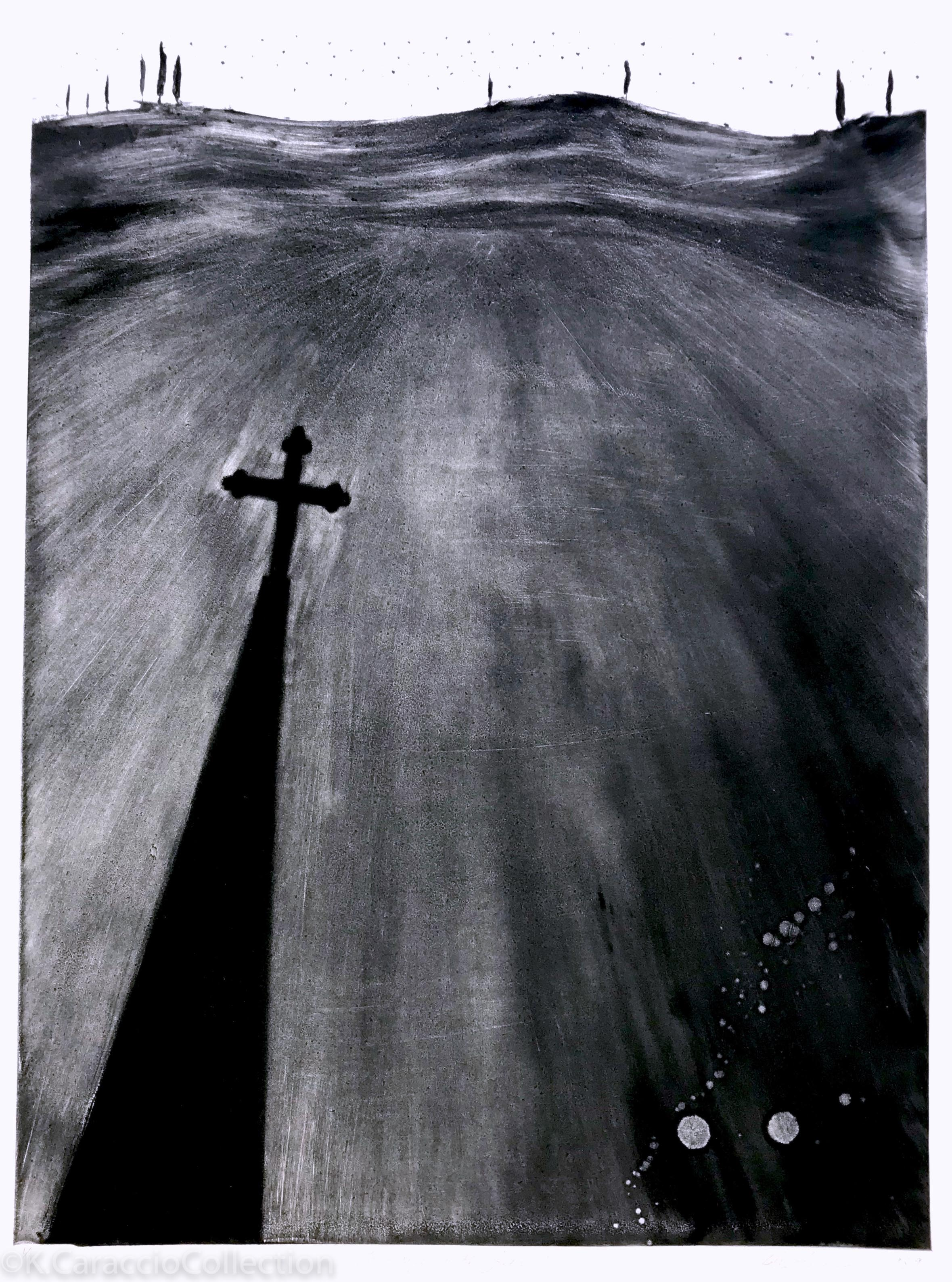 Landscape with Steeple, 1989