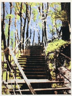 Stairs to Vysoky Zamok #2, 2010