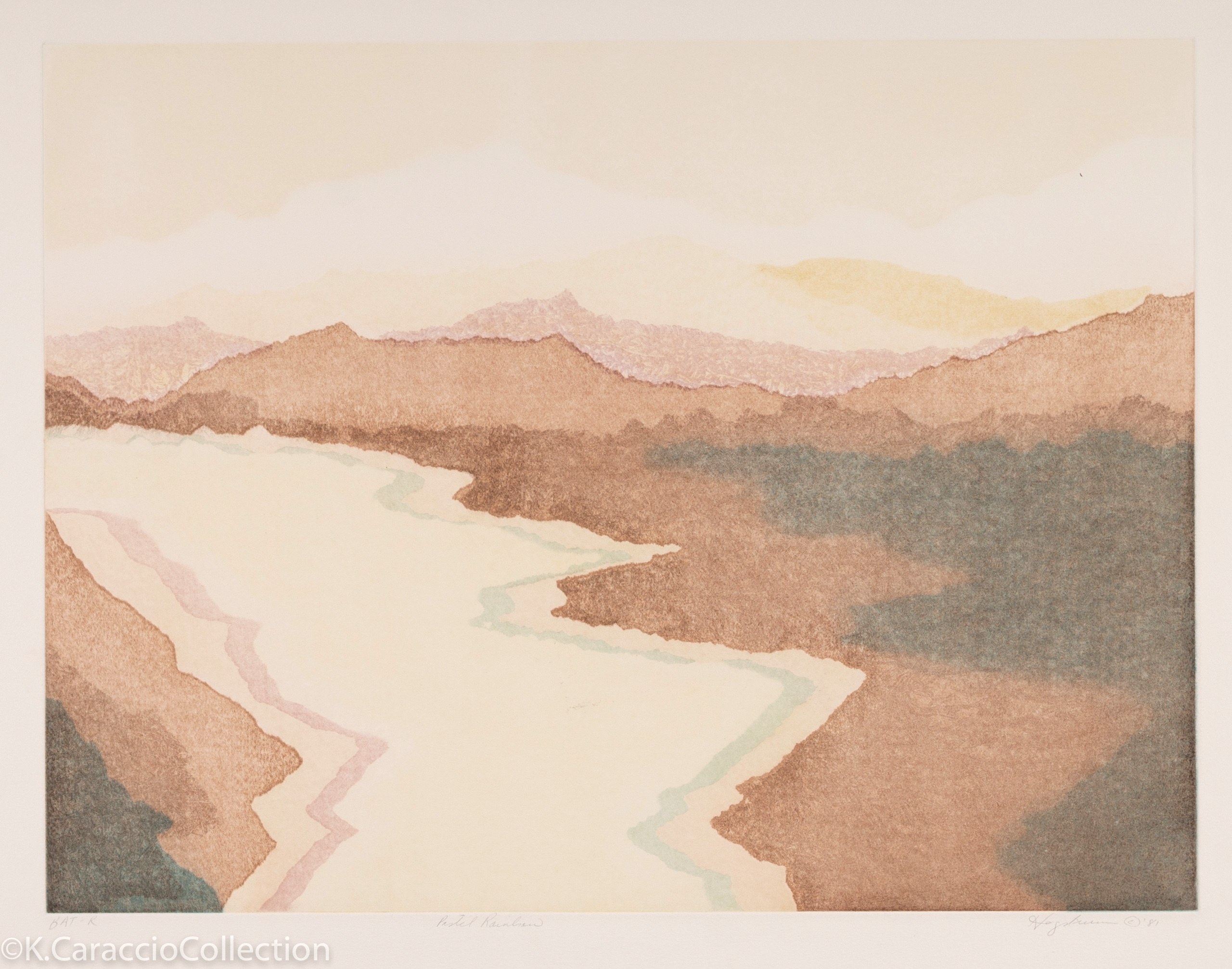 Pastel Rainbows, 1981